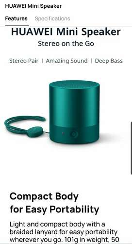 Huawei Mini Speaker Wireless Bluetooth