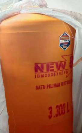 Tandon air 5000 liter gudang tandon 3000 twbal bahan plastik pvc