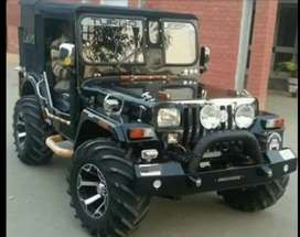Mahindera Willy jeep