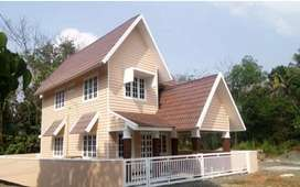 Aluva near rajagiri hospital 3cent 1300sqt 3bhk house 43lakh