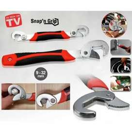 Kunci snap and grip 2 in 1