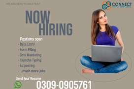 Ad posting/ typing work from home.. part time jobs