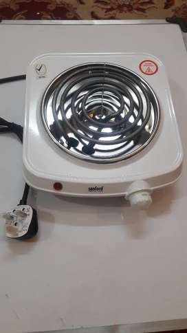 Hot plate heater for cooking from sunford with one year warranty