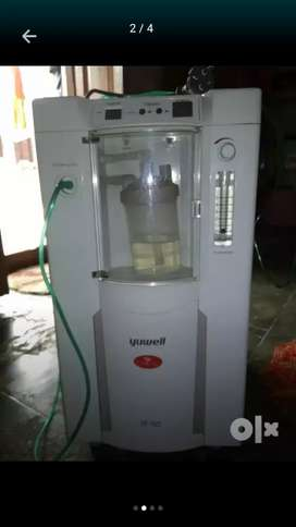 Yuwell oxygen concentrator machine ( only 2 months use )