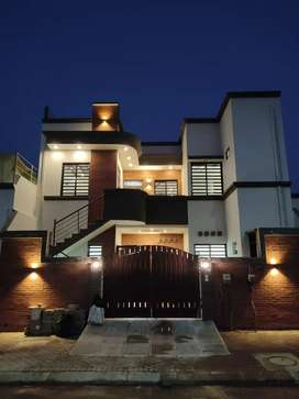 Saima Arabian villas Brand New Block B West open 100 ft road