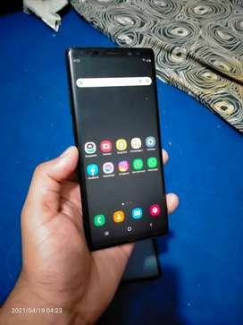 Samsung note 8 6/64 Official PTa Aproved duty paid read add first