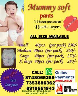 *Mummy soft* baby daiper pants