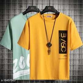 Men trendy t shirt combo (2 shirts)