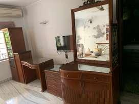 Storage Unit + Study + Tv Unit + Shutter storage unit with Free Mirror