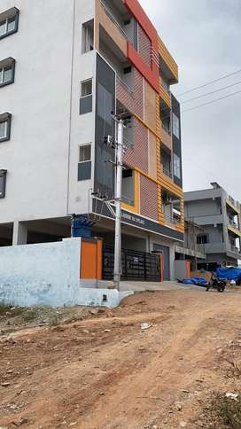 OPEN PLOT FOR SALE AT RAMPALLY X ROADS SIGNAL,2ND BIT,LRS FULL PAID.