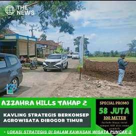 Dibuka kavling azzahra hills tahap2 berkonsep agrowisata dibogor timur