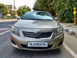 Toyota Corolla Altis. 2010 Company Fitted CNG. Brand new Tyres.