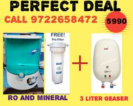RO AND MINERAL WITH 3 LTR GEASER OFFER