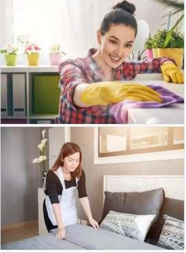 जैसे खाना बनाना ,साफ सफाई करना , बच्चों की देखभाल करना ,