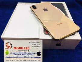 iPhone XS Max 256GB Gold One Month Warranty Left In Clean Condition.