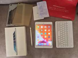 iPad Mini + Keyboard + Pencil