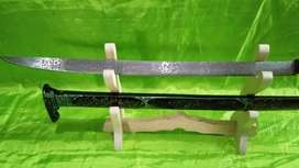 Pedang Macan Motif Grafir Full Kaligrafi