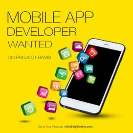 Wanted experienced app and web developer