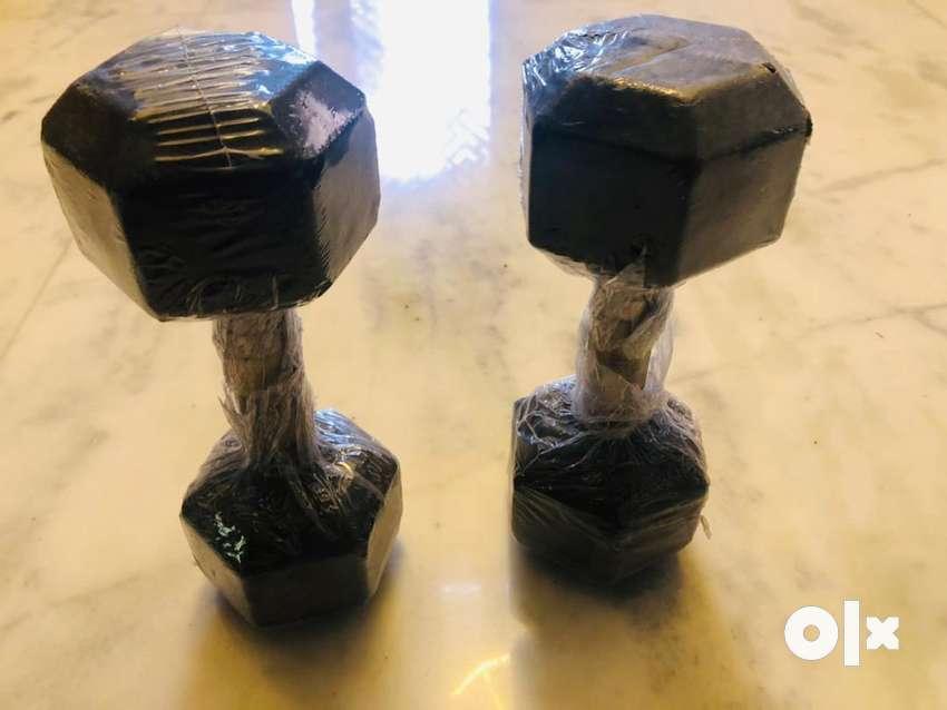 7.5 kg dumbells pair