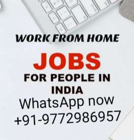 Earn money from home with simple typing job