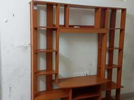 T v.stand with.book shelf