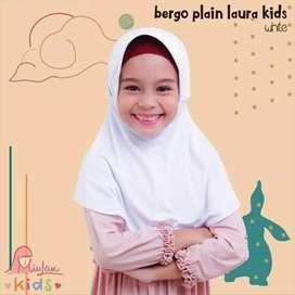 Jilbab Putih anak