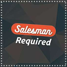 Salesman Required Only Male Staff