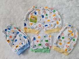 Celana bayi motif kualitas SNI bahan halus dan lembut