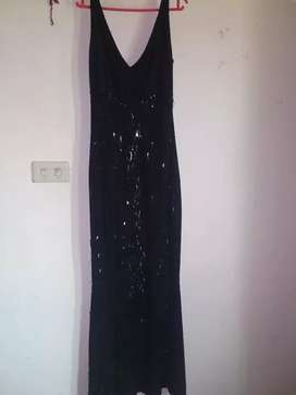 Black Long Dress Rp.300.000
