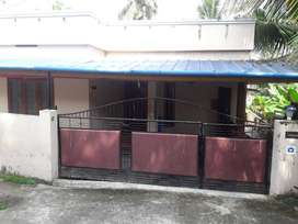 Single Floor Home with 4 cent at Valiyavila, Trivandrum