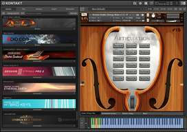 Orchestral music plugin vst plugin mac and win library 2019