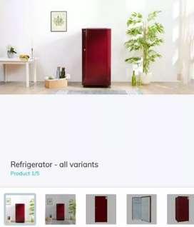 Refrigerator on rent