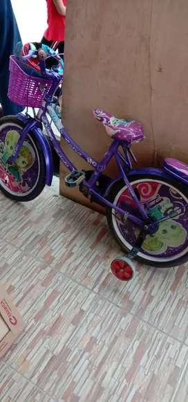 Sepeda bekas .minus boncengan copot patah