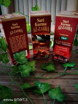 Sari kurma azzahra herbal kesehatan kios madu ajwa sukari zaitun otem