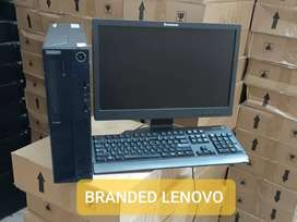 LENOVO THINK CENTRE CORE i3 4GB RAM 500GB HDD 17INC LCD KEY:MOUSE
