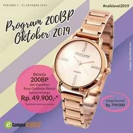 Rose Gold tone Watch