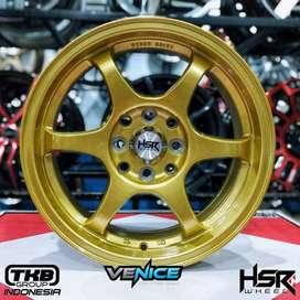 Velg Mobil Ring 16 Yuzawa Gold Untuk Avanza, Jazz, Yaris, Lancer, Brio