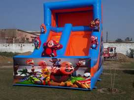 Jumping castle and slides , Baloon decoration , Magic show