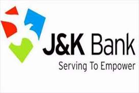 Urgent requirement for bank job
