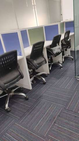 Furnished Office Space available with All Amenities with 0% Brokerage.