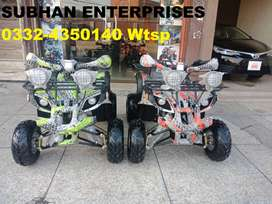 Special Edition New 125cc Atv Quad Bikes 4 Wheeler Delivey In All Pak