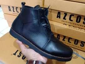 Sepatu kulit asli AZCOST original Bandung handmade