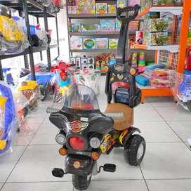 Sepeda Dorong Roda Tiga Mainan Anak