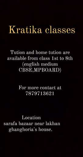 Home tutor and tutions