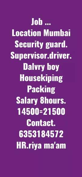 Security checking packing dalvery boy house kiping