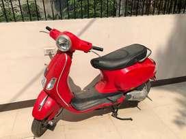 Vespa - 125cc hardly used