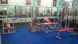 Gym aquiment for sell 141/E ram puram shayam nagar