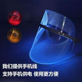 Face sshield LEDbeauty mask