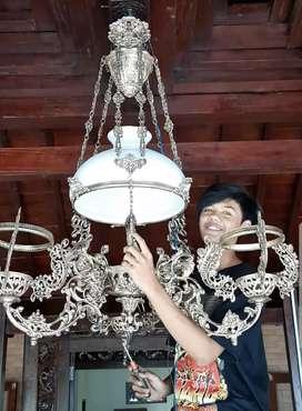 Lampu Gantung Antik Klasik Hias Joglo Gebyok Dm 28