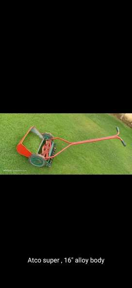 Grass cutting machine manual 16inches blades smooth noise